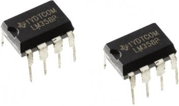 Zigshash IC LM358 ic Dual Op Amp Electronic Components