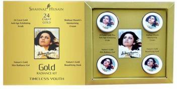 Shahnaz Husain 24 Carat Gold Skin Radiance Kit 40 g (Pack of 1) 40 g