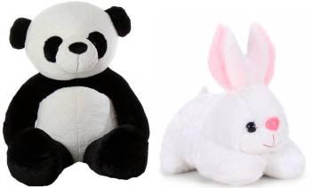 Anxiety Stuffed Animal, Teddycute 3 Feet Long Standing Cute Panda Teddy Bear With 26 Cm Rabbit Soft Toy 90 9954 Cm 3 Feet Long Standing Cute Panda Teddy Bear With 26 Cm Rabbit Soft