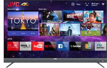 JVC 140cm (55 inch) Ultra HD (4K) LED Smart TV with Quantum Backlit  Technology