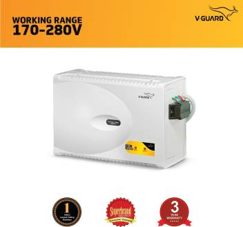 V-Guard V 400 Supreme for 1 5 Ton A C (170 to 280V) Voltage Stabilizer