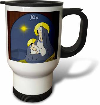 3drose A Window Depicting The Virgin Mother Mary With Child Jesus Travel Stainless Steel Coffee Mug Price In India Buy 3drose A Window Depicting The Virgin Mother Mary With Child Jesus