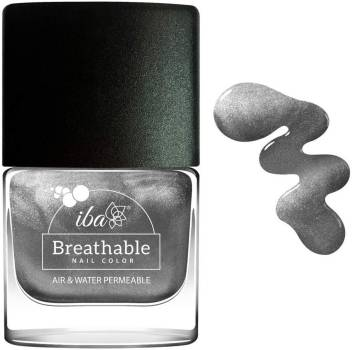 Iba Halal Care Breathable Nail Color B22 Sparkling Silver 9ml Sparkling Silver Price In India Buy Iba Halal Care Breathable Nail Color B22 Sparkling Silver 9ml Sparkling Silver Online In India