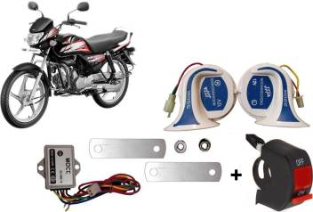 Mocc Horn For Hero Hf Deluxe Price In India Buy Mocc Horn For Hero Hf Deluxe Online At Flipkart Com