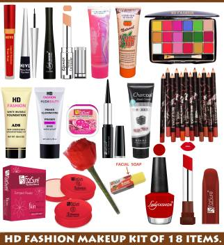 Hd Fashion Bridal Makeup Kit Of All The