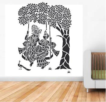 Reusable Large Wall Stencil Painting