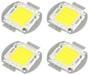 100Pcs F5 5MM White Color White Light Round Superbright LED Lamp GM