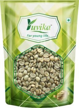 Yuvika Green Coffee Beans Decaffeinated Unroasted Arabica Coffe