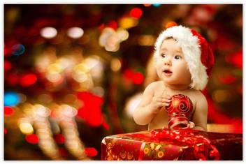 Christmas Baby Images Hd.Cute Baby Christmas Themed Posters For Wall Poster For