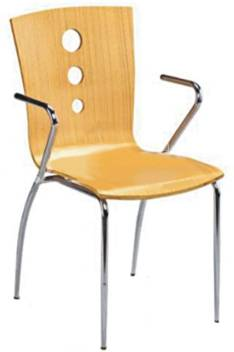 NEEM FURNITECH Polyester Study Stacking Chair Price in India