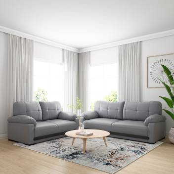 2 Grey Sofa Set