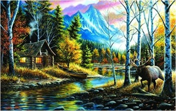 Mirror Image 1000 pc Jigsaw Puzzle by SunsOut