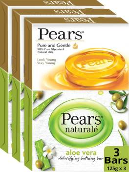 Pears Naturale Aloe Vera Detoxifying And Pure & Gentle