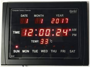 Ajanta Digital 25 cm X 40 cm Wall Clock