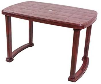 Nill Plastic 4 Seater Dining Table Price In India