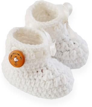 Baby Bootees Newborn-3 Months 8cm Sole