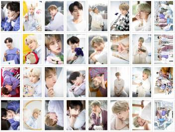 small bts white day photo postcard lomo cards ablm1002 original imafgym5pq83nywh