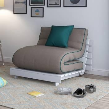 Urban Ladder Finn Futon Sofa Bed Double Fabric