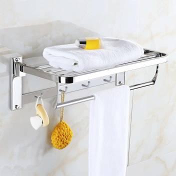 Stainless Steel Folding Towel Rack