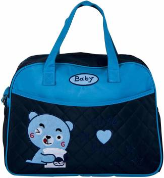 9d041f91ed BabySafeHouse Baby Diaper Bag for Mother – Multipurpose Travel Organizer  Tote Diaper Bag (Blue)