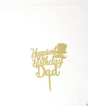 Strange Kosh Kosh Acrylic Topper Happy Birthday Dad 8 Cake Topper Cake Funny Birthday Cards Online Fluifree Goldxyz
