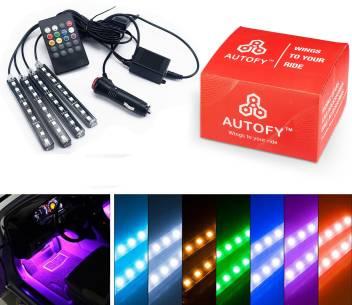 Autofy Auto Music Sync Remote Controlled Car Strip Led Lights Car Fancy Lights