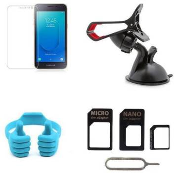 HIMANI TRADING Screen Protector Accessory Combo for Samsung