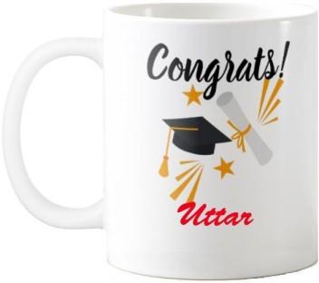 exoctic silver uttar congratulations quotes gift ceramic mug