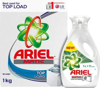 Ariel Matic Top Load Detergent Powder (1 kg) and Matic