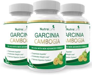 Nutralyfe 100 Natural Herbal Garcinia Cambogia Extract 70 Hca