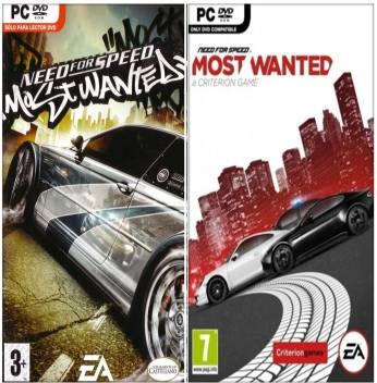 Need For Speed Most Wanted 2005 And 2012 Combo Of Two Racing Game