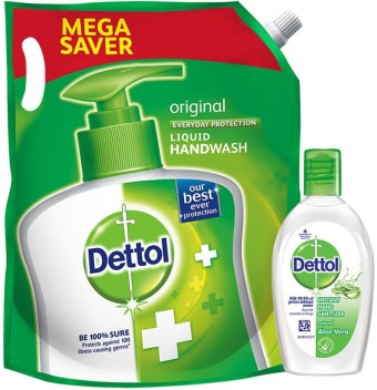 Dettol Liquid Handwash Refill Original Instant Hand Sanitizer