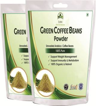 Scitec 100 Natural Green Coffee Bean Powder For Weight Management
