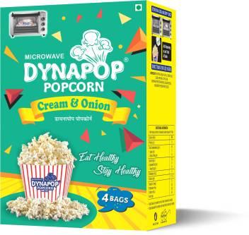Dynapop Microwave Popcorn Cream Onion
