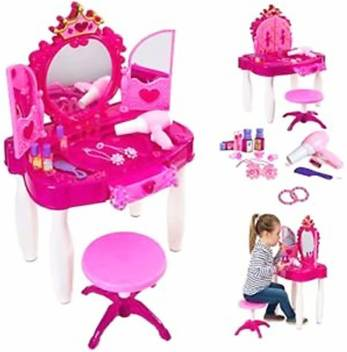 BN ENTER PRISE Girls Battery Operated Glamour Beauty Makeup Pretend