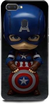 Play Fast Back Cover For Realme 2 Rmx1805 Captain America Printed Play Fast Flipkart Com