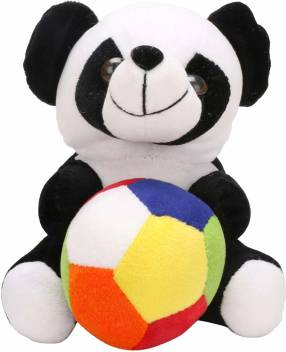 Anxiety Stuffed Animal, Punyah Creations Soft Toy Cute Panda Teddy Bear With Ball For Birthday Gifts Black White 26 Cm Soft Toy Cute Panda Teddy Bear With Ball For Birthday Gifts Black White Shop For Punyah