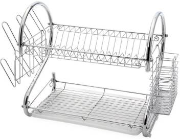 Metal Dish Drying Rack.Skyzone Stainless Steel S Shape 2 Layer Dish Drying Rack Cup Plate Drainer Strainer Kitchen Rack Steel Kitchen Rack
