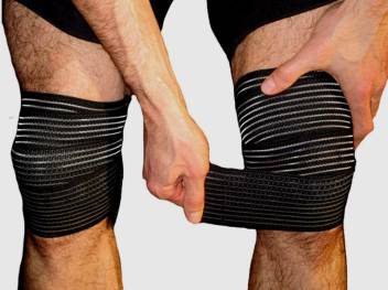 Gymwar Knee Wraps Pair For Squats Gym Powerlifting Weightlifting For Men And Women Knee Support Buy Gymwar Knee Wraps Pair For Squats Gym Powerlifting Weightlifting For Men And Women Knee Support