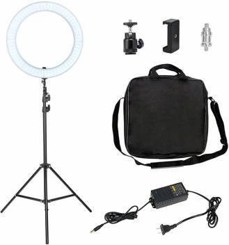Immutable Ring Light 18 Inch With Stand 55w 5500k Dimmable Led Kit Ring Light With Stand