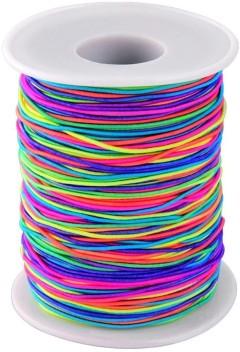 Elastic Cord Beading Elastic Stretch Thread Fabric String Cord 100 Yard