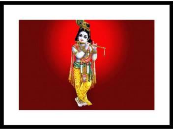 large lord krishna wallpaper photo paper poster full hd without original imafjykbzhvrhpgk