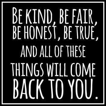 be kind , be fair |Motivational Poster|Inspirational Poster|Gym poster|All  Time Posters|Technology Poster|Poster About Life|HomeDecorPoster|Poster for  Every Room,Office, GYM|sticker paperPrint| 12x18 Inch Paper Print - Quotes  & Motivation posters in ...