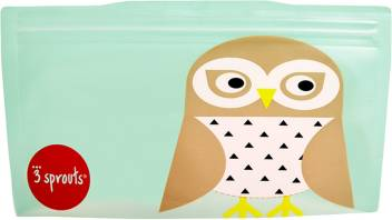 3 Sprouts Reusable Snack Bag Pack Of 2 Owl Plastic Storage Pouch Price In India Buy 3 Sprouts Reusable Snack Bag Pack Of 2 Owl Plastic Storage Pouch Online At Flipkart Com