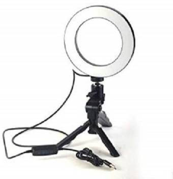 Buy Genuine 10 Inch Portable High Quality Makeup Ring Light Dimmable Flash Buy Genuine Flipkart Com
