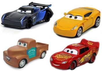 Shanaya Cars3 Die Cast Metal Mcqueen Cruiz Ramirez Jackson Storm