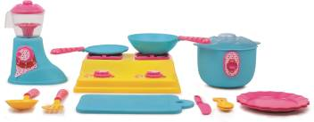 Giggles Kitchen Set Deluxe Kitchen Set Deluxe Buy No Character Toys In India Shop For Giggles Products In India Flipkart Com