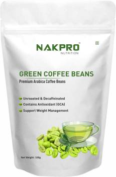 Nakpro Nutrition Green Coffee Beans For Weight Loss Premium
