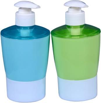 Akr High Quality Unbreakable Soap Dispenser Set Of 2 Purple Green 320 Ml Soap Foam Conditioner Lotion Dispenser Price In India Buy Akr High Quality Unbreakable Soap Dispenser Set Of 2 Purple Green 320 Ml