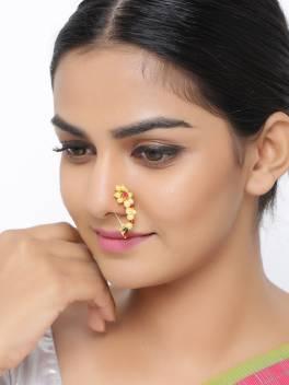 Sanjog Brass Nose Ring Price In India Buy Sanjog Brass Nose Ring